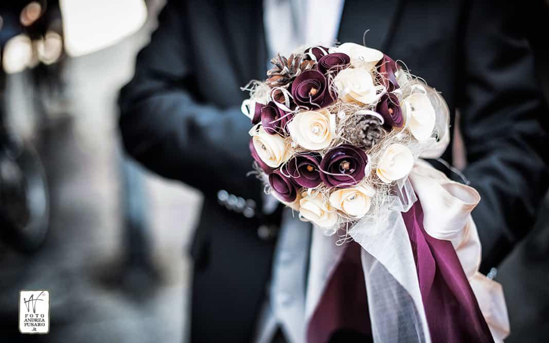 12 bouquette in carta fotografo matrimonio ferrara