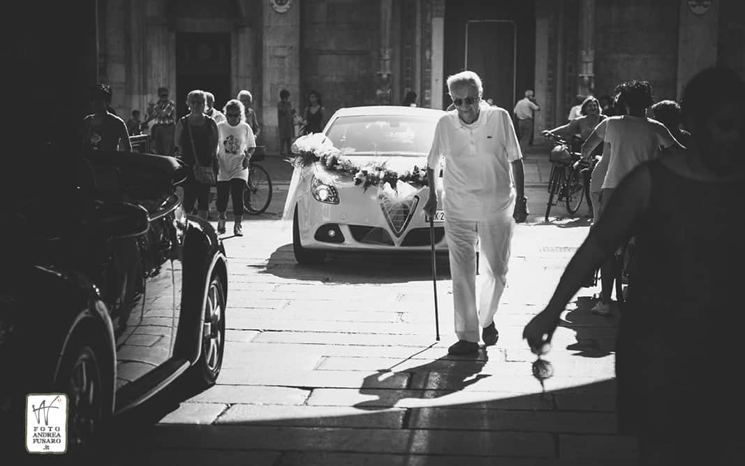 15 arrivo della sposa municipio fotografo matrimonio ferrara