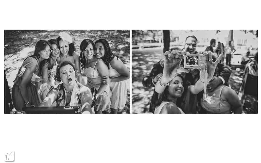 28 selfie matrimonio invitati