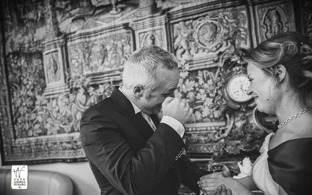 28 sposo commosso fotografo matrimonio ferrara