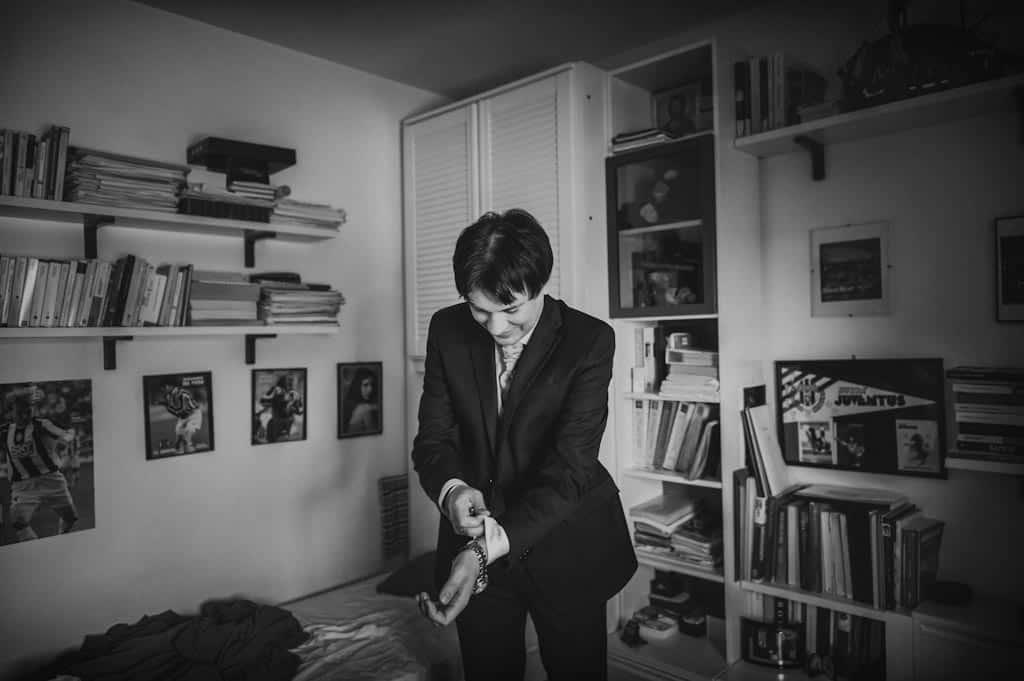 05 matrimonio sposo preparativi Eleonora + Filippo | Matrimonio Rovigo   Padova