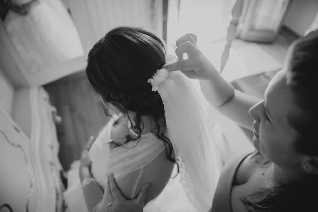 07a preparativi sposa velo Lara + Mattia | Matrimonio Padova   Rovigo
