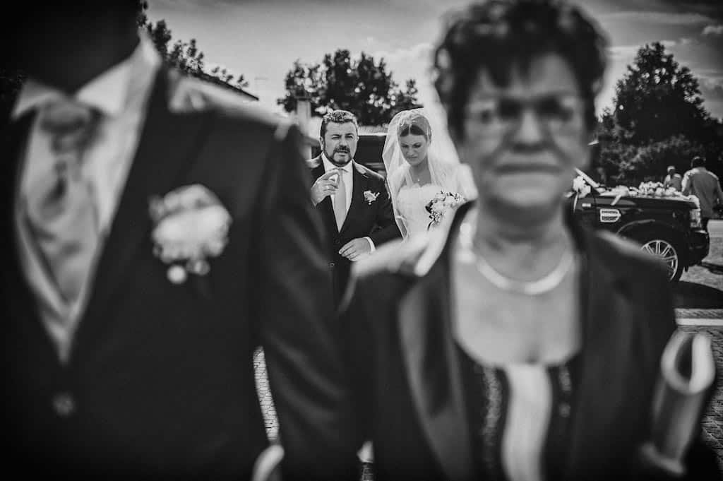 13 entrata in chiesa sposi Erika + Davide | Rovigo   Padova