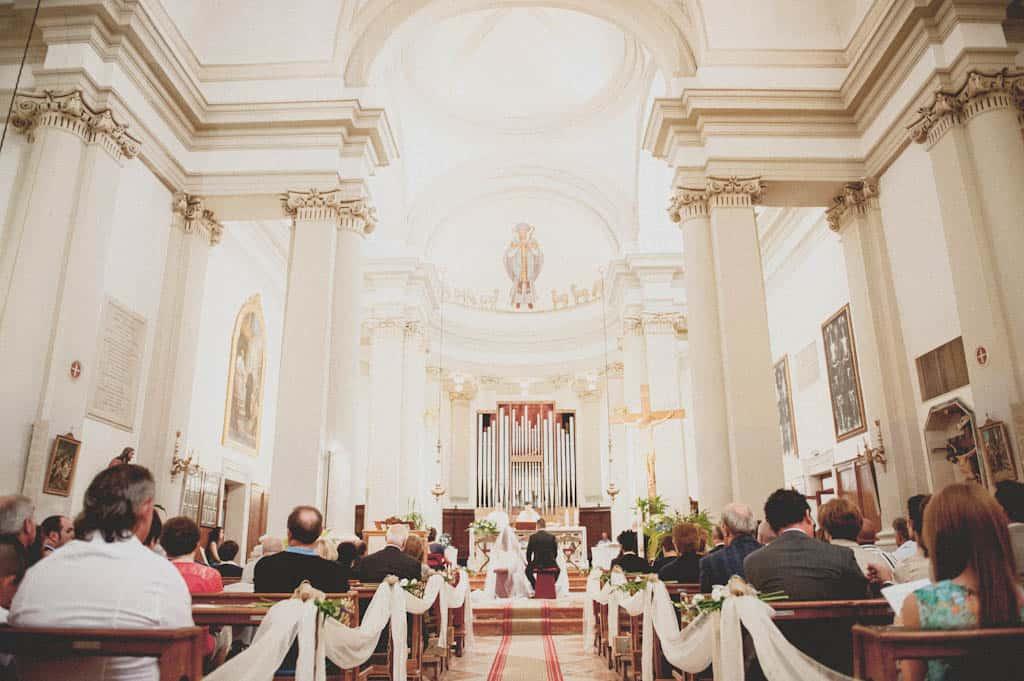 16 interni chiesa villadose Laura + Marco | Matrimonio a Rovigo