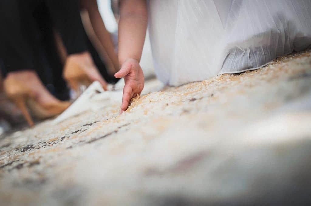 24 riso chiesa matrimonio Erika + Davide | Rovigo   Padova
