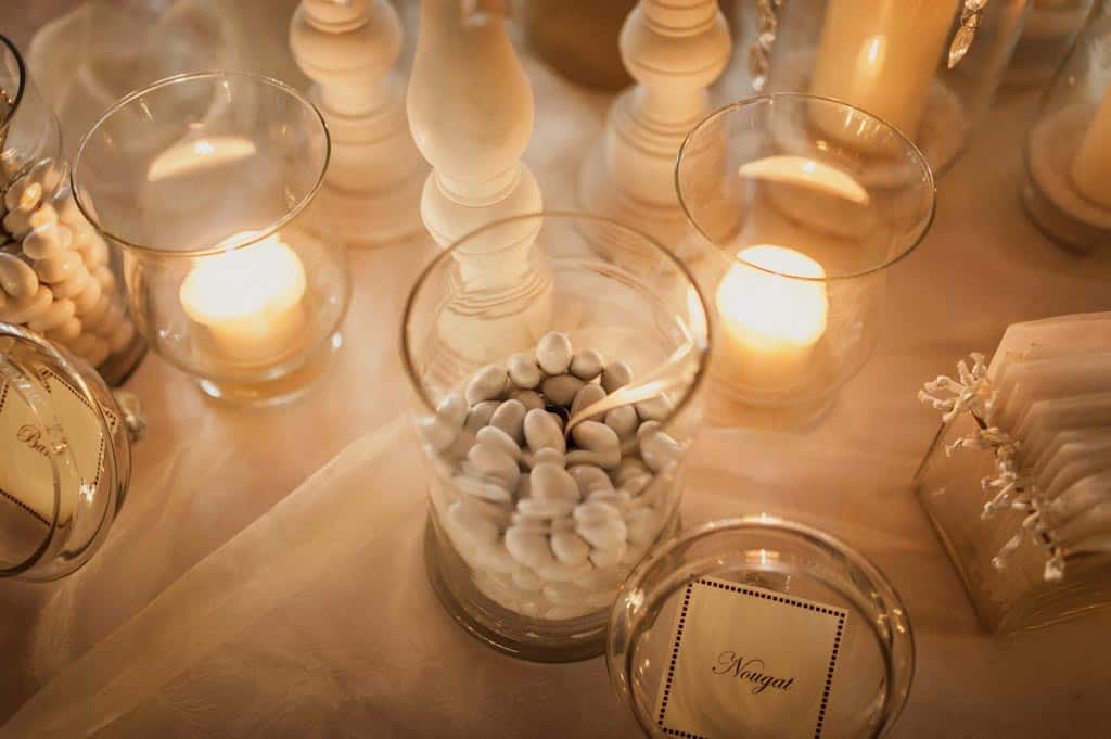 26 confettata candele matrimonio Eleonora + Filippo | Matrimonio Rovigo   Padova