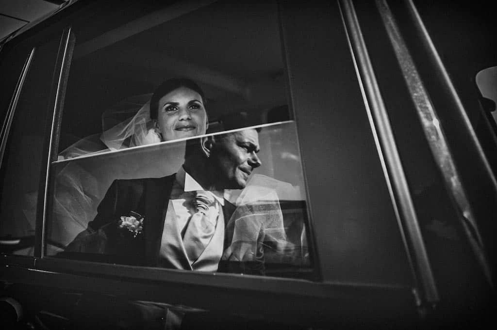 26 sposi riflesso auto matrimonio Erika + Davide | Rovigo   Padova