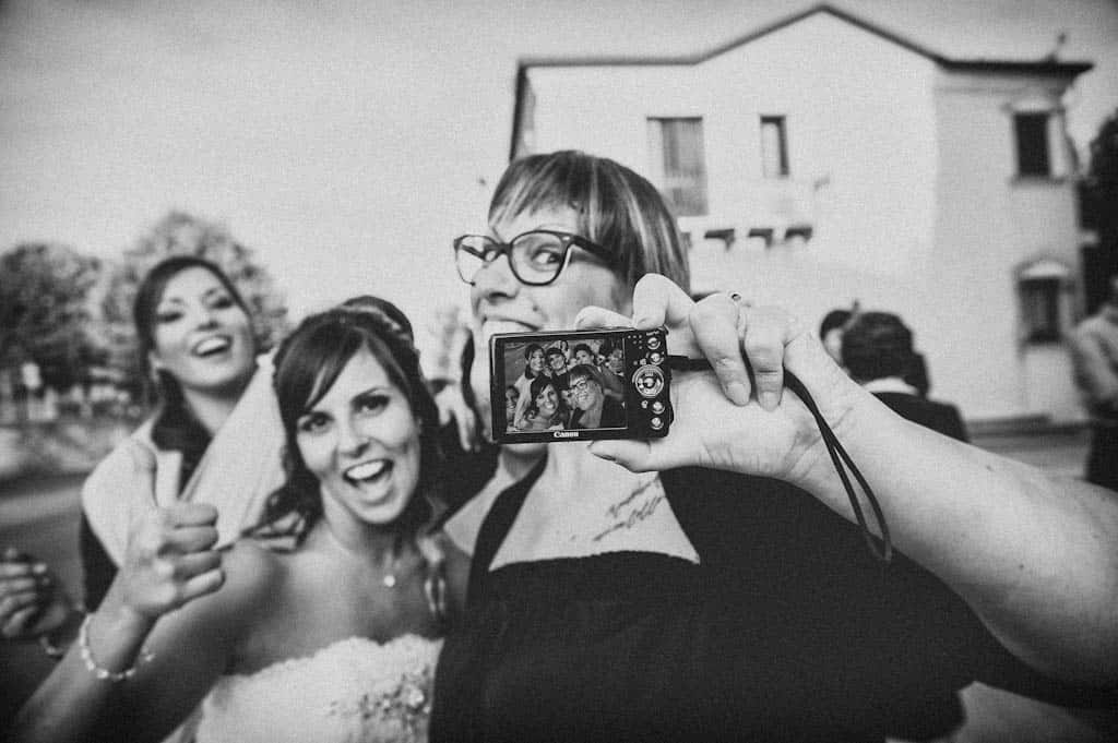 27 selfie matrimonio Laura + Marco | Matrimonio a Rovigo