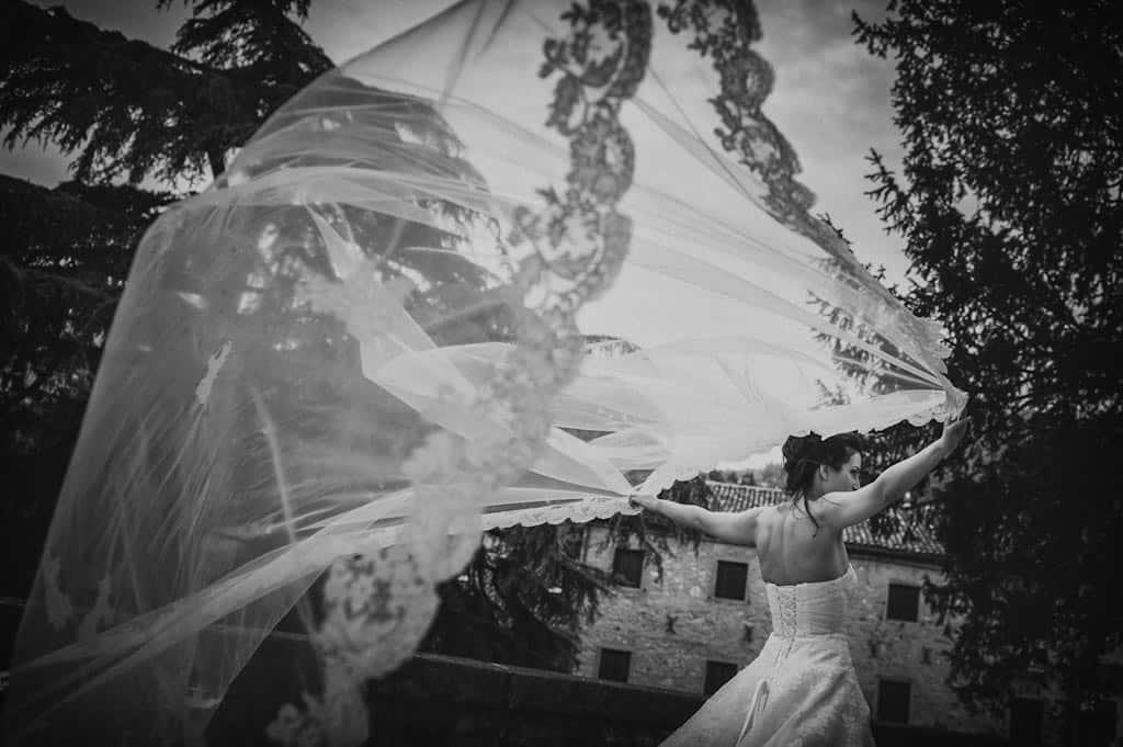 38 velo sposa vento Eleonora + Filippo | Matrimonio Rovigo   Padova