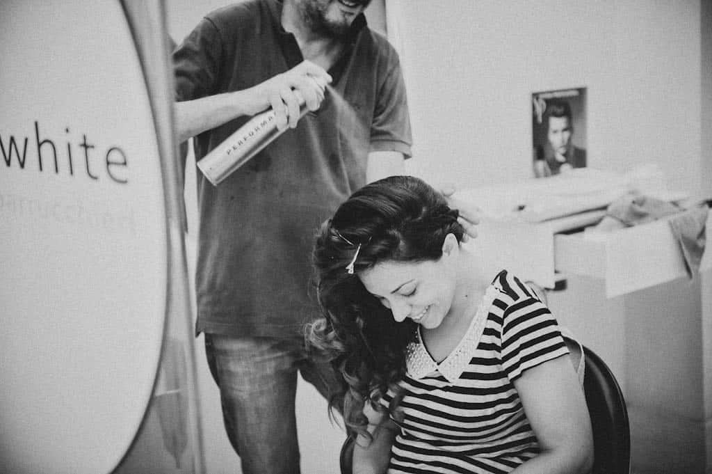 03 parrucchiere sposa desenzano Simona + Francesco | Matrimonio Lago di Garda
