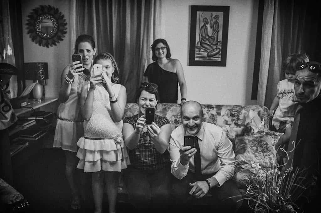 05 invitati matrimonio tutti fotografi