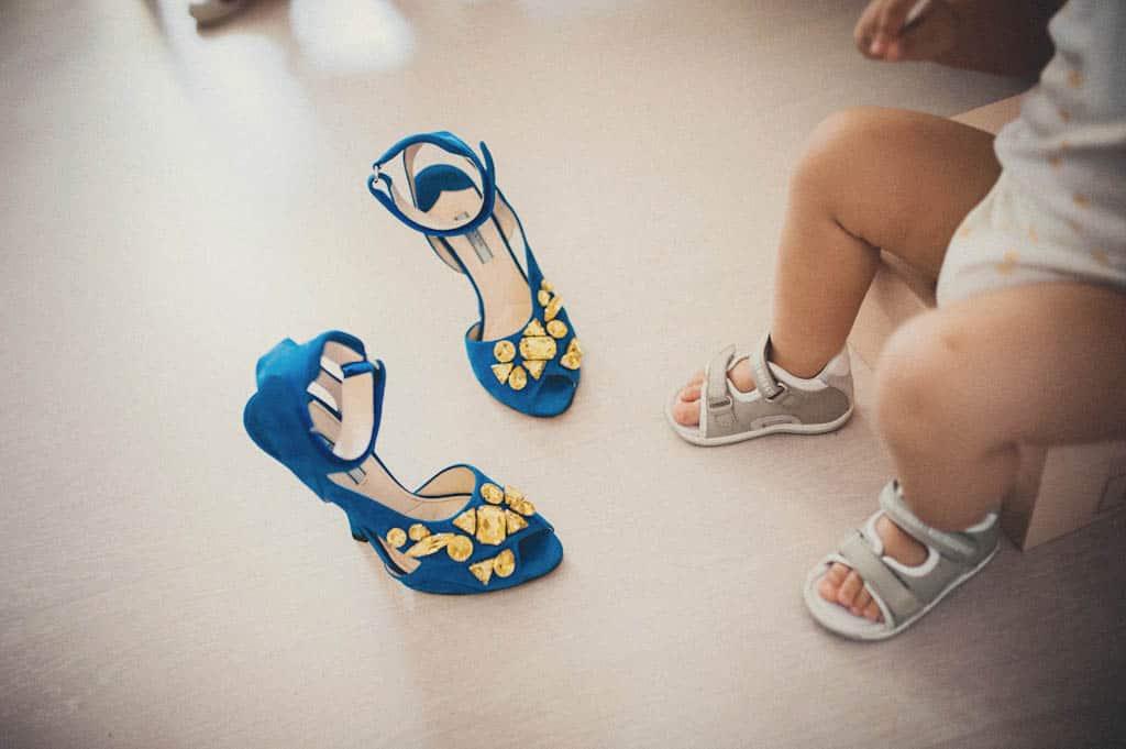 08 scarpe sposa Simona + Francesco | Matrimonio Lago di Garda