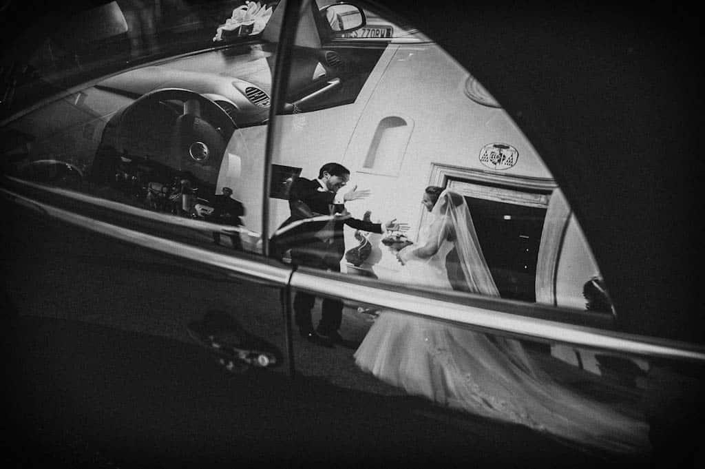 20 sposi riflessi maggiolone matrimonio