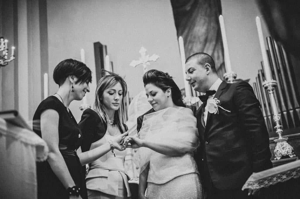 24 celebrazione matrimonio chiesa Simona + Francesco | Matrimonio Lago di Garda