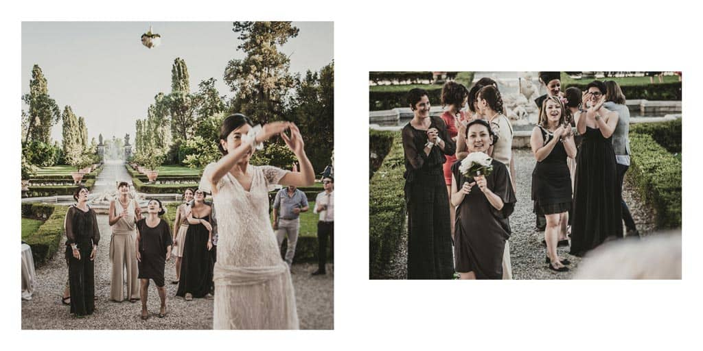 29 lancio bouquet villa ca marcello treviso matrimonio Album Top Ten Wedding of the Year 2014