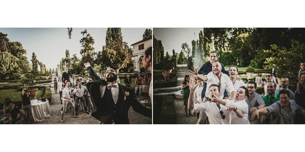 30 lancio giarrettiera villa ca marcello treviso matrimonio Album Top Ten Wedding of the Year 2014