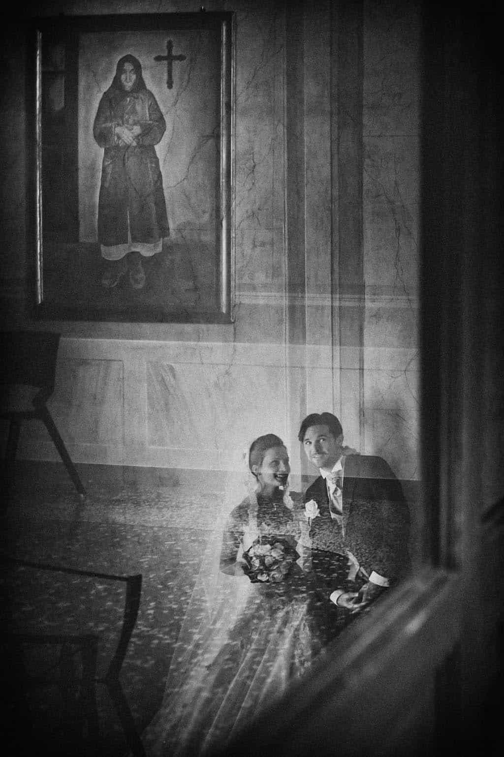 32 foto santo riflessi sposi matrimonio