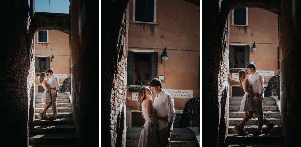 05 engagement in venice photo shooting Rachel + Vlad from Philadephia | engagement session in Venice