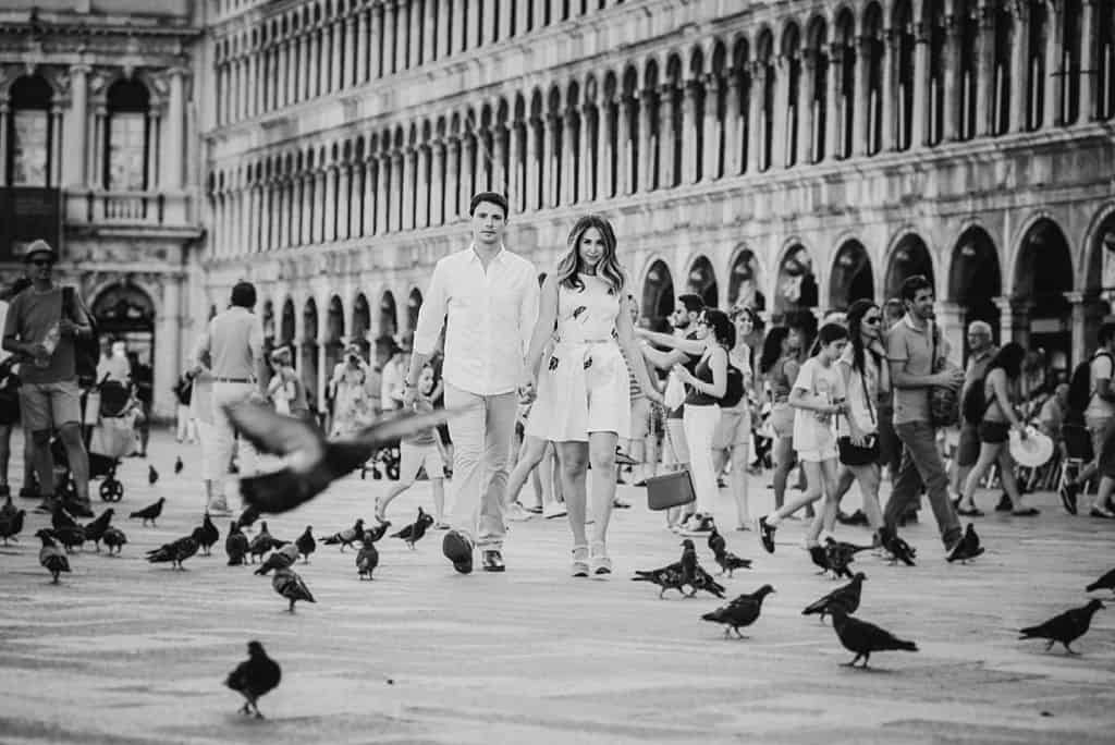 28 engagement in venice photo shooting