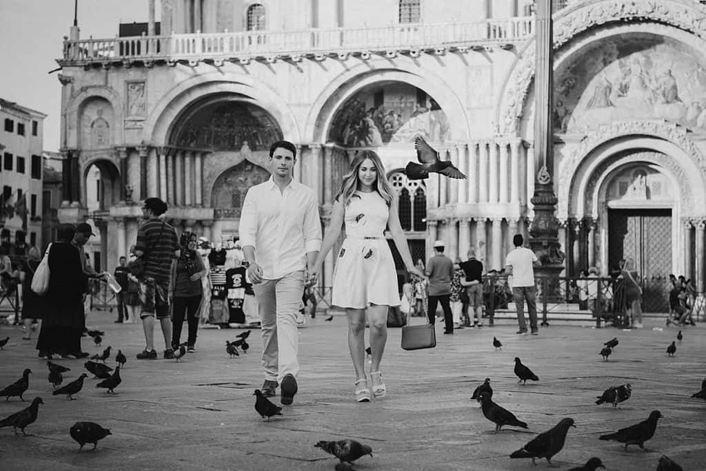29 engagement in venice photo shooting