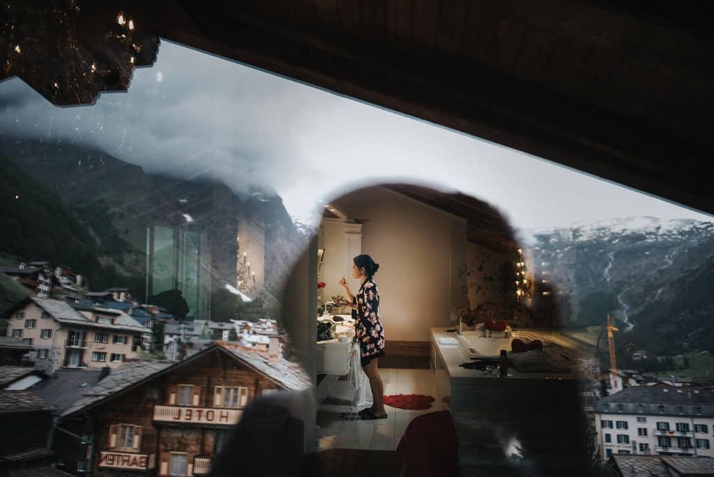 112 matrimonio nelle alpi svizzere