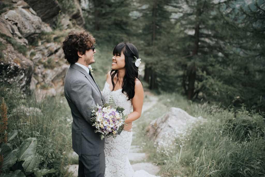 124 matrimonio sulle alpi