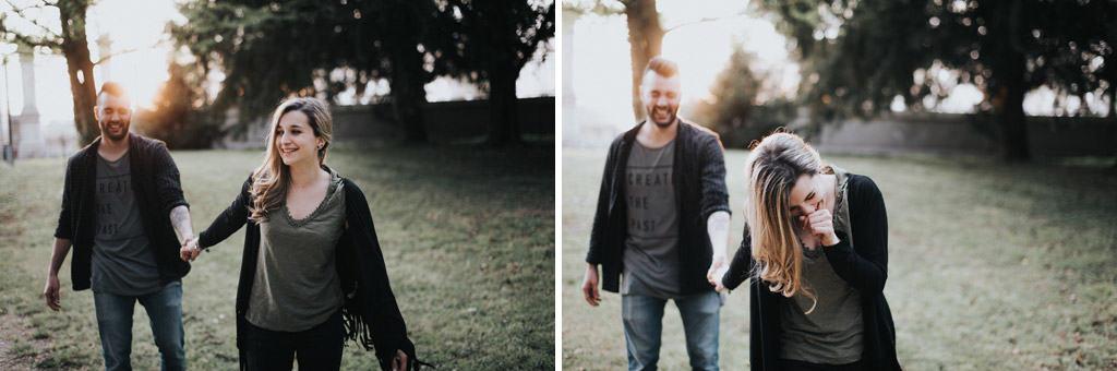 201 ritratti di coppia Servizio fotografico per fidanzati   Hipster Rock, Tatuaggi e Bull Terrier