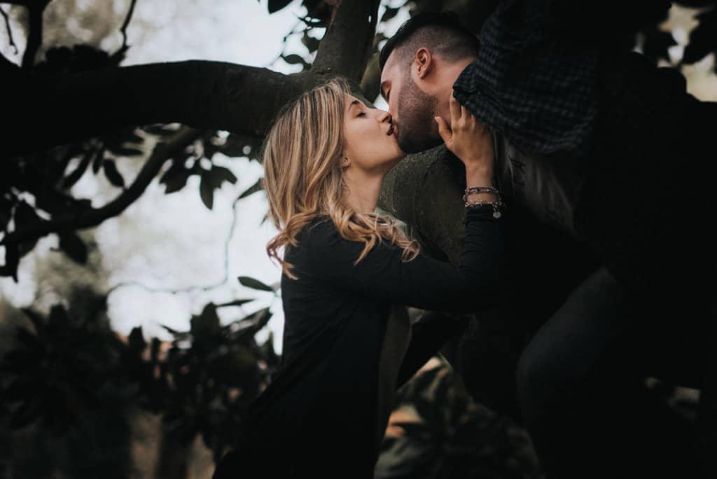204 ritratti di coppia Servizio fotografico per fidanzati   Hipster Rock, Tatuaggi e Bull Terrier