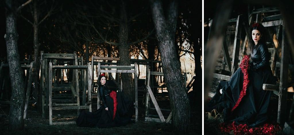 573 sposa goth Im not complete   Breve racconto fotografico dallo stile Dark