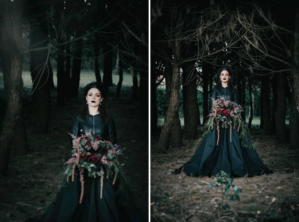 575 sposa goth Im not complete   Breve racconto fotografico dallo stile Dark