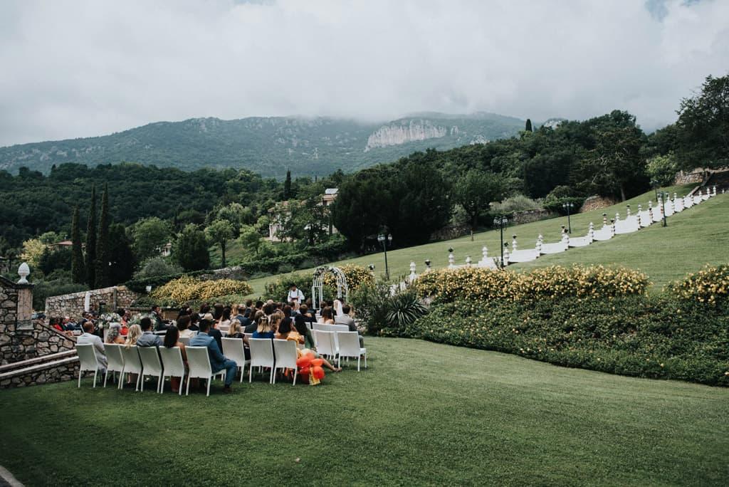 774 matrimonio civile all aperto Da Monaco alla Valpolicella   matrimonio Villa Cariola