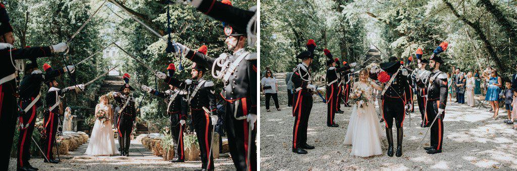 100 matrimonio carabinieri Perchè un carabiniere si sposa in divisa? Matrimonio a Frassanelle